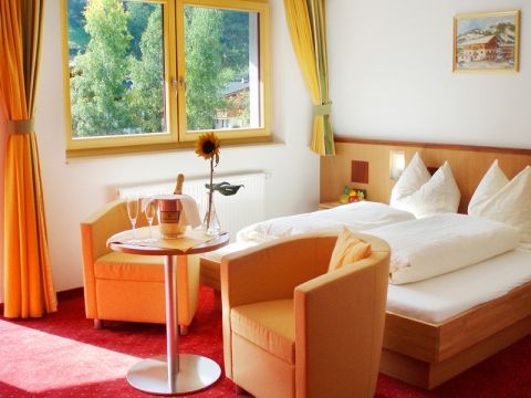 The rooms in the Hotel Sonnberg in Saalbach Hinterglemm