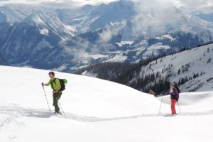 Ski touring on the Manlitzkogel