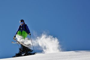 Powder off-piste in Saalbach Hinterglemm