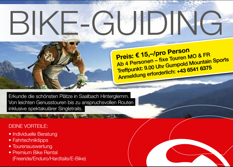 Bike Guiding Gumpold Mountain Sports