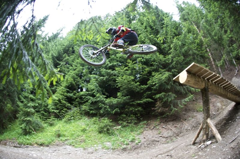 Freeride Lines Saalbach Hinterglemm Mountainbike Hiking