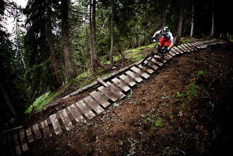 Bike Park Leogang Near Saalbach Hinterglemm Mountainbike Hiking