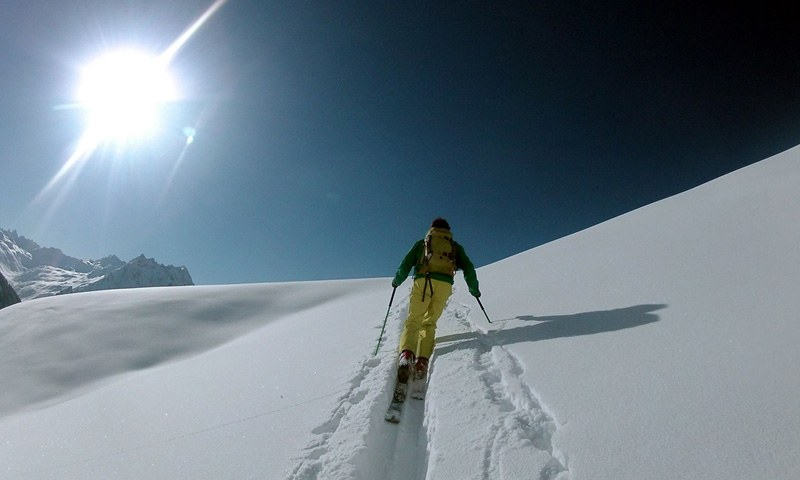 Ski touring in Saalbach Hinterglemm