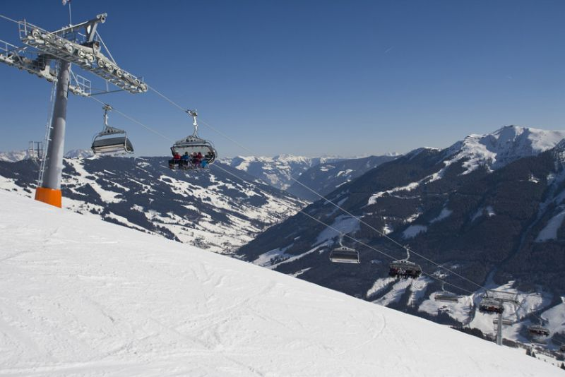 World famous skiresort Saalbach Hinterglemm Leogang